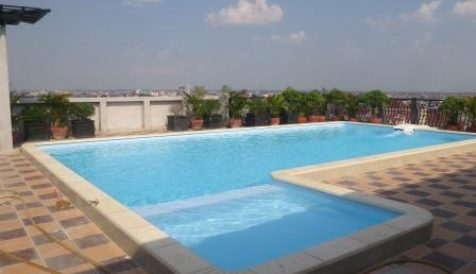 Phnom Penh | Rooftop Swimming Pool & Gym Serviced Apartment