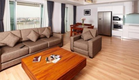 Chroy Changvar | River View Full Serviced Apartment