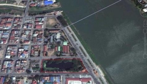 Land Plot Available for Sale in Ta Khmao 6km south of Monivong Bridge and National Highway 1.