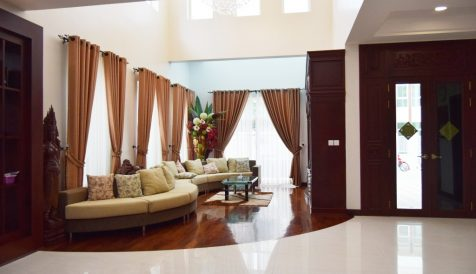Phnom Penh | 5 Bedroom Fully Serviced Villa For Rent