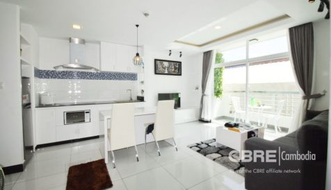 Well Designed 1-Bedroom Apartment in BKK3 BKK 3
