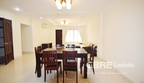 Fully Furnished 3 Bedroom  Serviced Apartment BKK 1