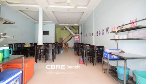 Best-Located Shophouse on Sothearos BLVD Tonle Bassac