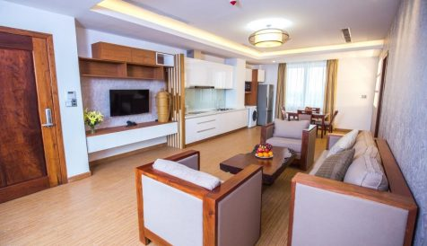 Full Serviced One Bedroom Apartment Boeung Prolit