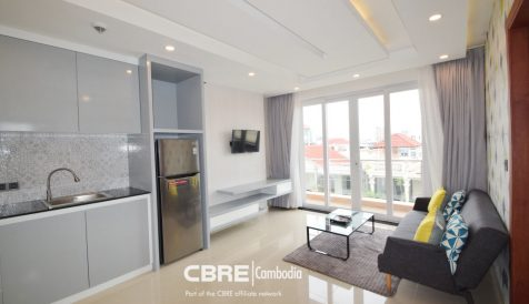 Modern 1 bedroom Apartment Near BKK1 Boeung Prolit