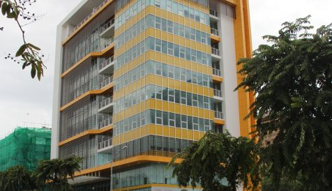 Grade B office for lease along Norodom Blvd. Boeung Reang