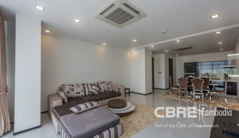 Beautiful 2 Bedroom on 5th floor @Maline Boeung Reang