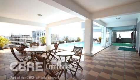 Brightly 2 Bedroon Penthouse Apartment For Rent Toul Tum Poung 1