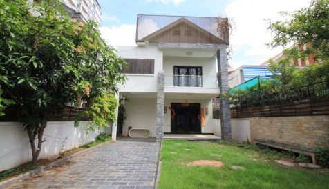 Ample parking space commercial villa at BKK1 BKK 1