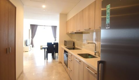 Brand New 1 Bedroom Apartment on 15th Floor Tonle Bassac