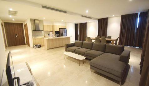 Spacious 3 Bedroom Apartment For Rent @ Embassy Residences Tonle Bassac