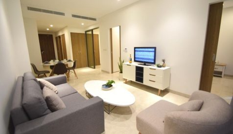 Delightful 1 Bedroom Apartment at Embassy Residences For Rent Tonle Bassac