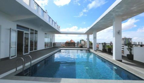Brand New Apartment with Swimming Pool in Toul Kork Boeung Kak 1