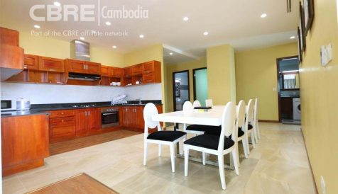Spacious 3 Bedroom Apartment near Toul Tom Poung Tumnob Tuek