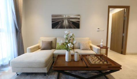 Great Interior Design 1 Bedroom Apartment For Rent @ Embassy Residences Tonle Bassac