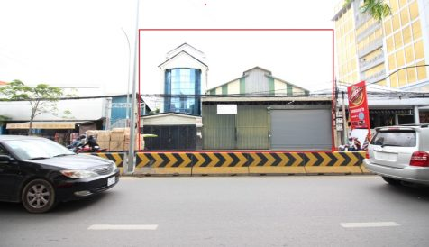 Shophouse & Warehouse Along Street 271 For Sale Boeung Tumpun