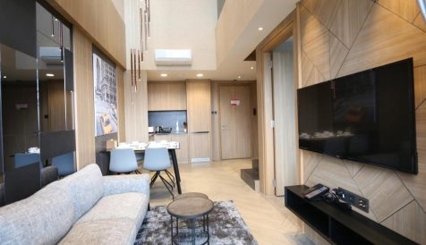 High-End 2-Bedroom Duplex in Tonle Bassac Tonle Bassac