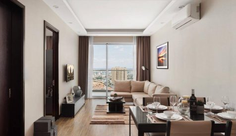 High-End 2-Bedroom Serviced Apartment For Rent in Diamond Island BKK 1