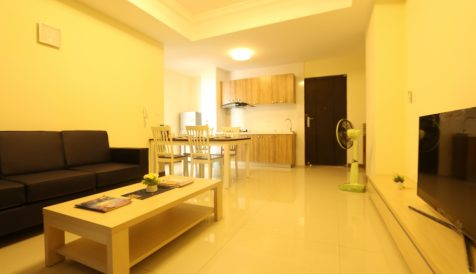 1 Bedroom Apartment On 17th Floor For Rent @Bali 3 Chroy Changvar