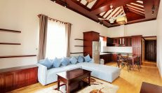 Colonial Style 3 Bedroom Serviced Apartment In BKK1
