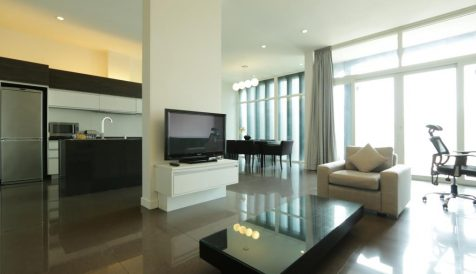 Beautifully Design 2-Bedroom Apartment near Aeon Mall Tonle Bassac