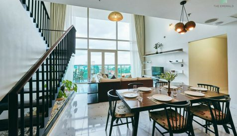 Comfortable 4-Bedroom Duplex Penthouse Boeung Reang