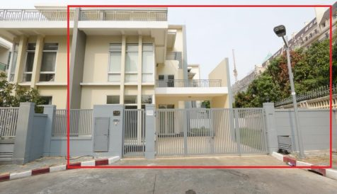4 bedrooms Villa in Diamond Island for rent Tonle Bassac
