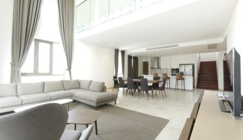 Modern Duplex Style Penthouse at Embassy Residence