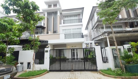 4 Bedrooms Twin Villa For Rent in Borey Peng Hout Beoung Snor Nirouth