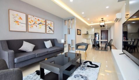 19th Floor 2-Bedroom for Rent@Olympia City Veal Vong