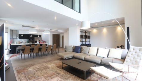 Luxury Penthouse for Lease & Sales at Embassy Residences Tonle Bassac