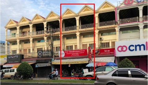 Shophouse for Rent Stueng Mean chey