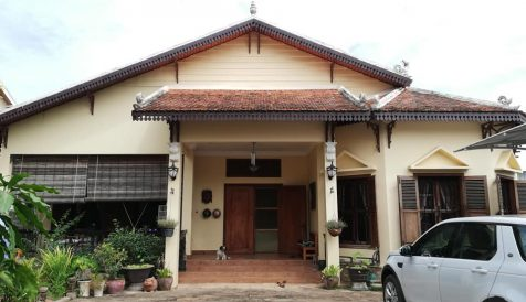 Well Built Khmer Style Villa for Sale at Takhmao City Kampong Samnanh