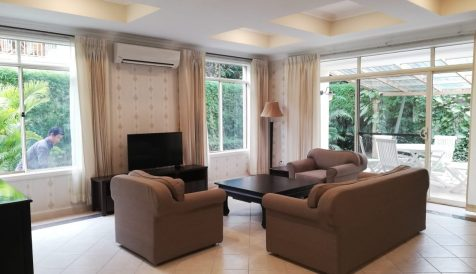 4 Bedrooms Villa in Greenery Compound near North Bridge School For Rent Teuk Thla
