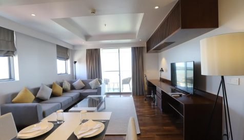 High-End Japanese 2-Bedroom Serviced Apartment