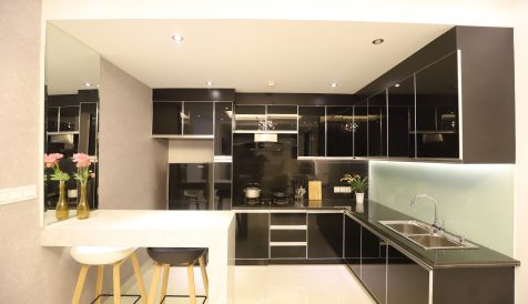 High End 2 Bedrooms Service Apartment in BKK1 Very Close to Aeon Mall 1