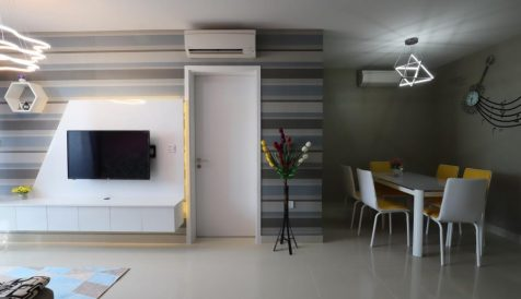 Beautiful 2 bedrooms for Rent at The Bridge Condominium Tonle Bassac
