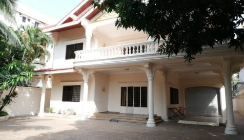 Spacious 7-bedroom Villa for Rent in BKK1 BKK 1