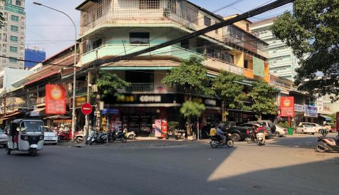 The Prime Corner Property for Lease Boeung Reang