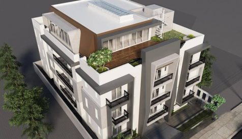 Apartment Building For Rent in Central Of Siem Reap Town