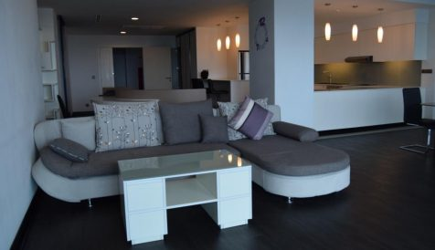 Spacious 4 Bedroom Penthouse for rent near ISPP Tonle Bassac