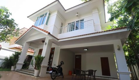 Well Designed 4 Bedrooms Villa in Bassac Garden – Face to North