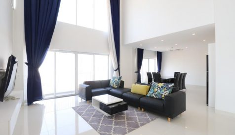 Beautiful 3 Bedroom Penthouse near Russian Market Area Tumnob Tuek