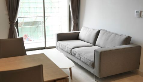 Fully Furnished 1 bedroom on level 9 for Sales Tonle Bassac