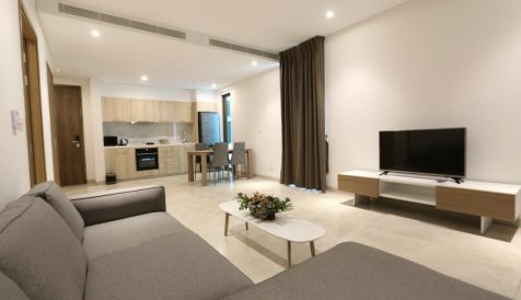 Fully Furnished 1 bedroom on level 11 for Sales Tonle Bassac