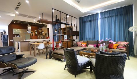 Luxury 4 Bedroom Penthouse For Sale in Central Phnom Penh Boeung Reang