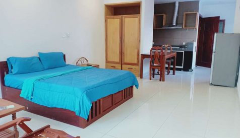 Studio near Toul Tompong for Rent Phsar Daeum Thkov