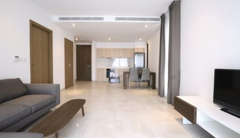 Fully Furnished 1 bedroom on level 8 for Sales Tonle Bassac