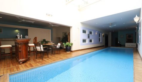 French Design Villa with Indoor Swimming Pool near Royal Palace