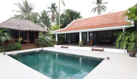 House and Land  with Swimming Pool for Sale in Kep